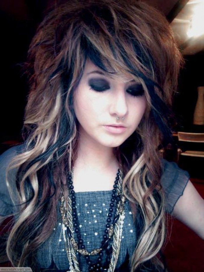 10 Cute Long Emo Hairstyles For Girls In 2018 | Bestpickr Pertaining To Emo Long Hairstyles (View 1 of 25)