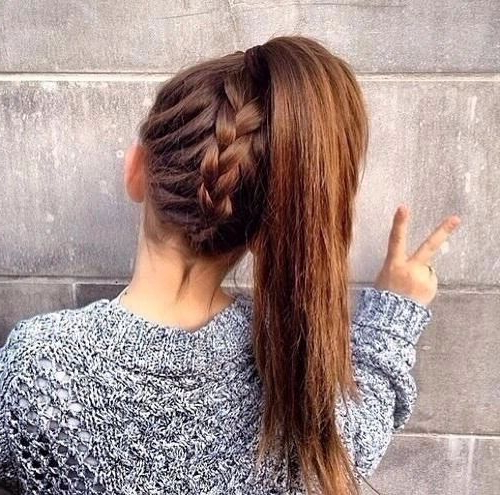 10 Easy Stylish Braided Hairstyles For Long Hair 2019 Intended For Casual Braids For Long Hair (View 13 of 25)