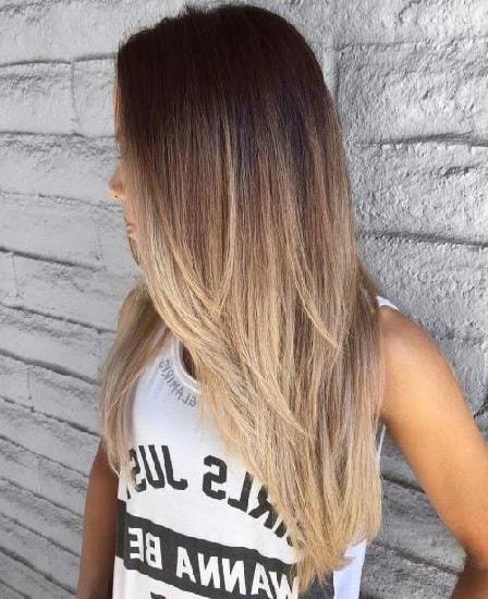 10 Exquisite Layered Haircuts For Thick Hair – Hairstylecamp For Long Haircuts Thick Hair (View 10 of 25)