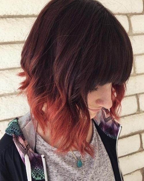 10 Fantastic Dip Dye Hair Ideas 2019 Pertaining To Long Hairstyles Dip Dye (View 13 of 25)