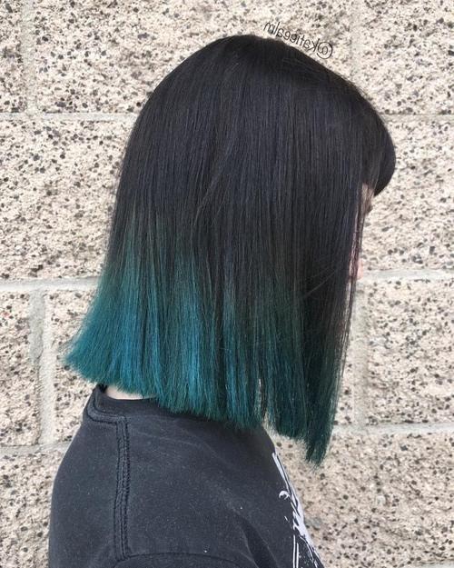 10 Fantastic Dip Dye Hair Ideas 2019 Throughout Long Hairstyles Dip Dye (View 5 of 25)