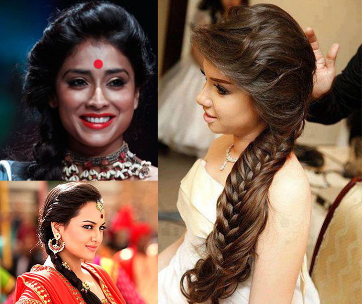 10 Indian Bridal Hairstyles For Long Hair Pertaining To Indian Bridal Long Hairstyles (View 2 of 25)