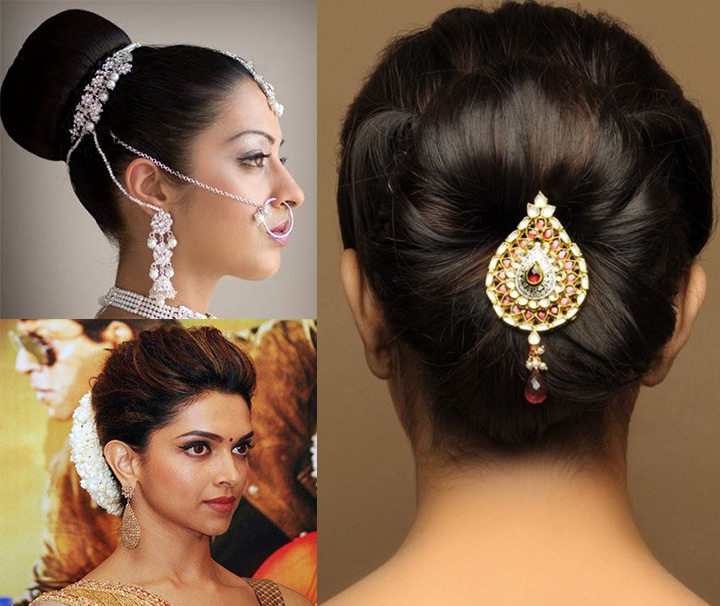10 Indian Bridal Hairstyles For Long Hair Pertaining To Indian Bridal Long Hairstyles (View 1 of 25)