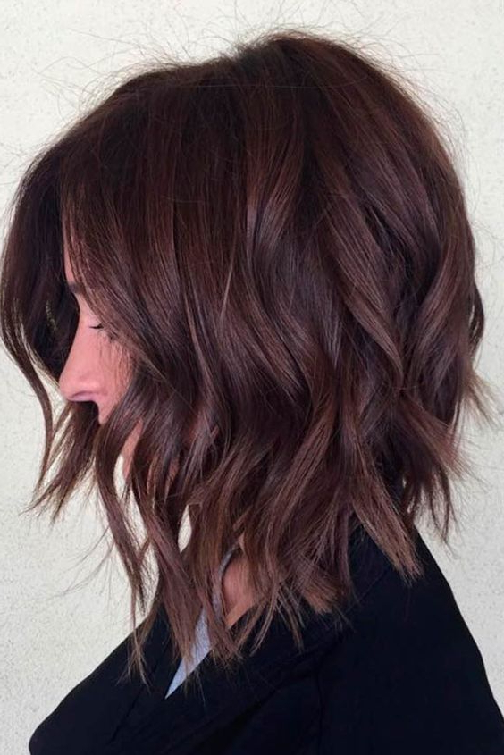 10 Latest Inverted Bob Haircuts 2019 Pertaining To Long Tapered Bob Haircuts (View 20 of 25)