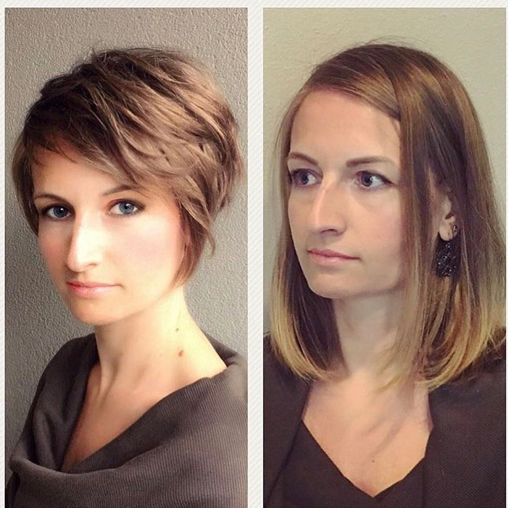 10 Latest Long Pixie Hairstyles To Fit & Flatter – Short Haircuts 2019 With Long Nose Hairstyles (View 3 of 25)