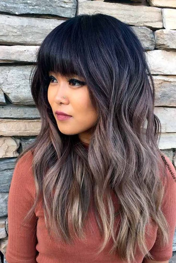 10 Layered Hairstyles & Cuts For Long Hair 2019 Inside Long Layered Black Hairstyles (View 5 of 25)