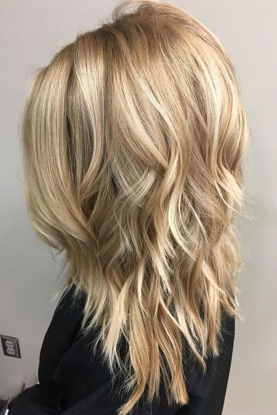 10 Layered Hairstyles & Cuts For Long Hair 2019 Pertaining To Long Haircuts With Layers (View 11 of 25)