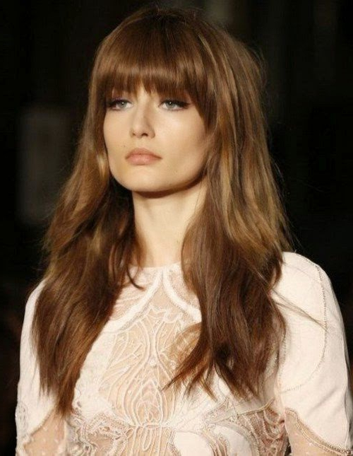 10 Long Hairstyles With Bangs 2015 – Best Hairstyles One With Regard To Best Long Hairstyles With Bangs (View 13 of 25)