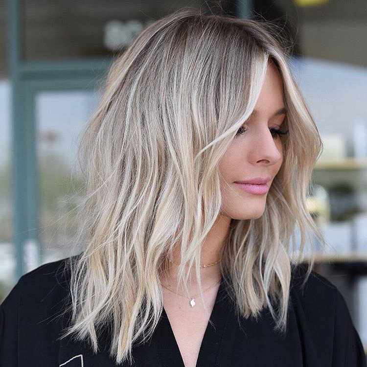 10 Medium To Long Hair Styles – Ombre Balayage Hairstyles For Women 2019 Within Layered Ombre For Long Hairstyles (View 23 of 25)