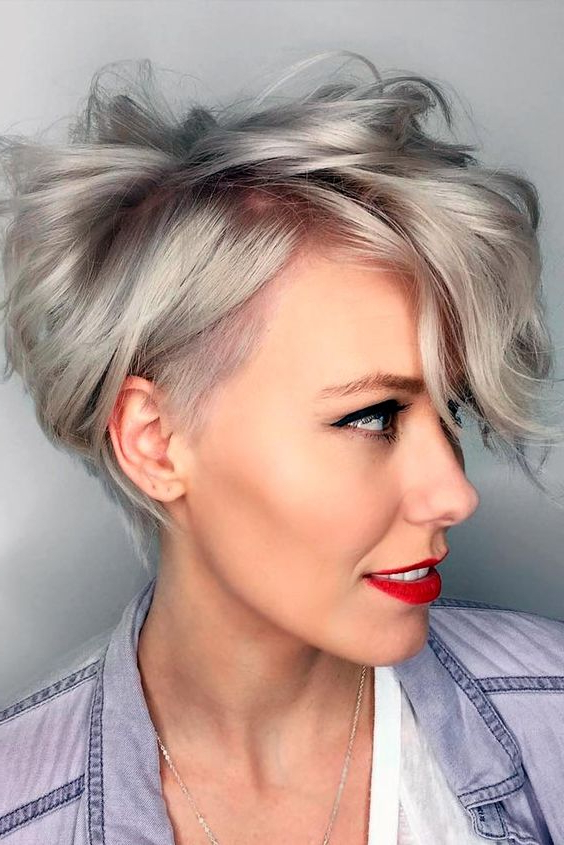 10 Most Amazing Short Haircuts For Women (2018) (Trending On Pinterest) Within Long Quirky Hairstyles (View 7 of 25)