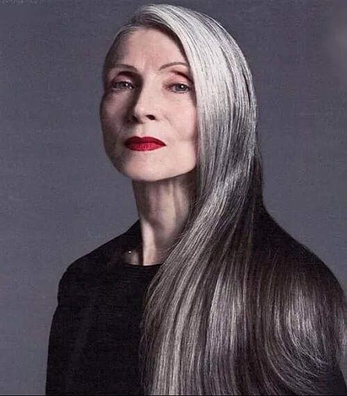 10 Most Inspiring Long Hairstyles For Women Over 60 – Sheideas With Long Hairstyles Over (View 12 of 25)