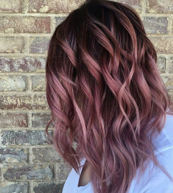 10 Pastel Hair Color Ideas With Blonde, Silver, Purple, Pink With Loose Layers Hairstyles With Silver Highlights (View 13 of 25)