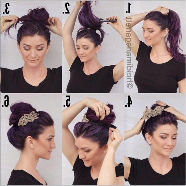 10 Pretty Headband Hairstyle Tutorials – Be Modish In Long Hairstyles With Headbands (View 17 of 25)