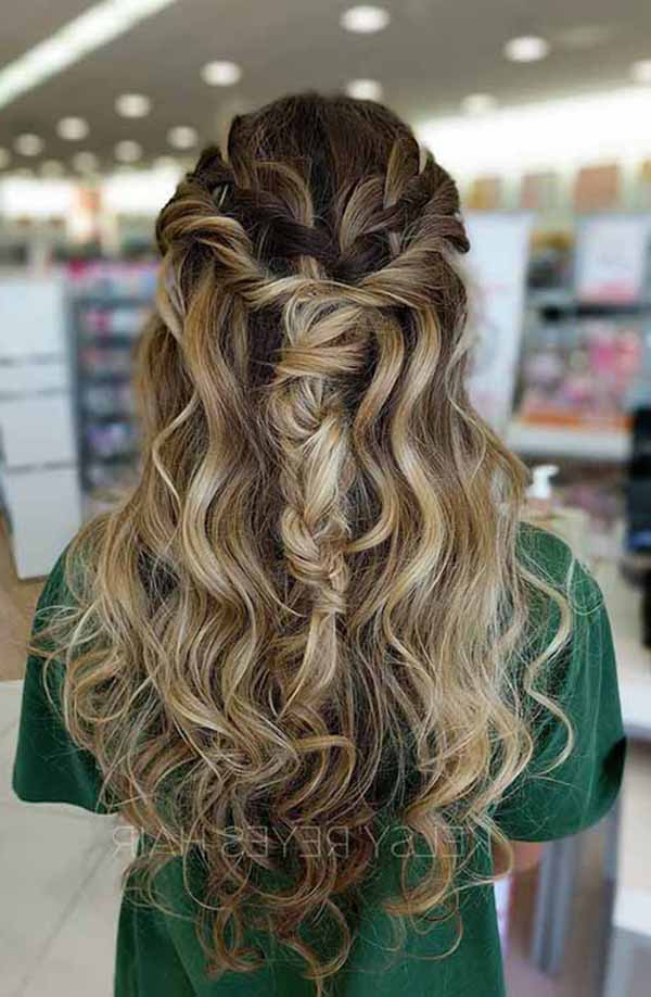 10 Prom Hairstyles Ideas For Long Hair : Best Ideas About Prom For Fishtail Florette Prom Updos (View 14 of 25)