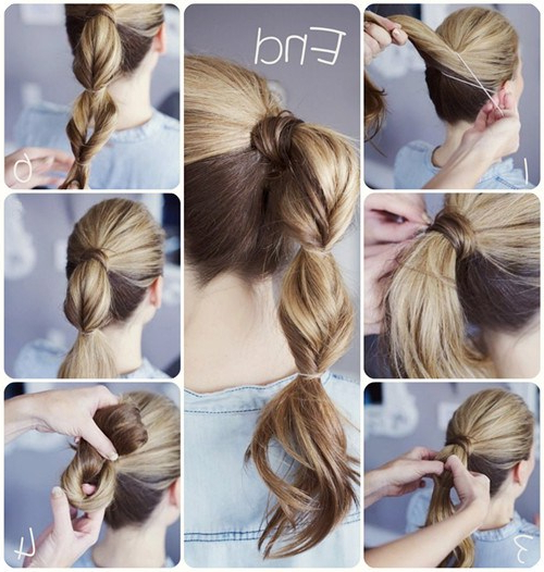10 Quick And Easy Hairstyles For Updo Newbies – Verily With Regard To Long Hairstyles Easy And Quick (View 12 of 25)