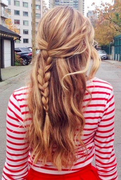 10 Quick And Simple Daily Hairstyles For Long Hair | Styles Of Pertaining To Long Hairstyles Daily (View 8 of 25)