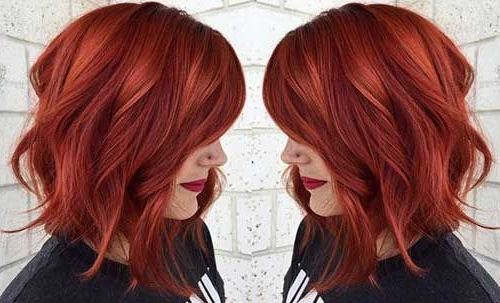 10 Stunning Hairstyles For Red Hair | Styles Weekly Regarding Long Hairstyles For Red Hair (View 10 of 25)