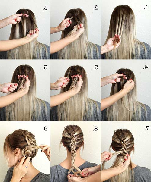 10 Stunning Updos For Long Hair With Regard To Long Hairstyles Pinned Up (View 4 of 25)