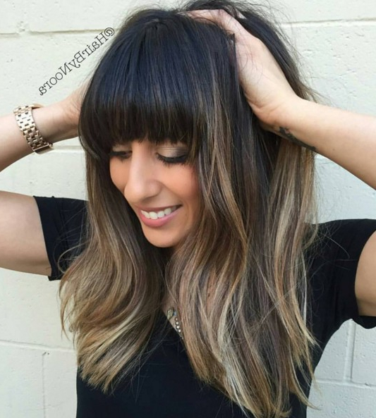10 Super Fresh Hairstyles For Brown Hair With Caramel Highlights With Regard To Long Hairstyles Brown Hair (View 18 of 25)