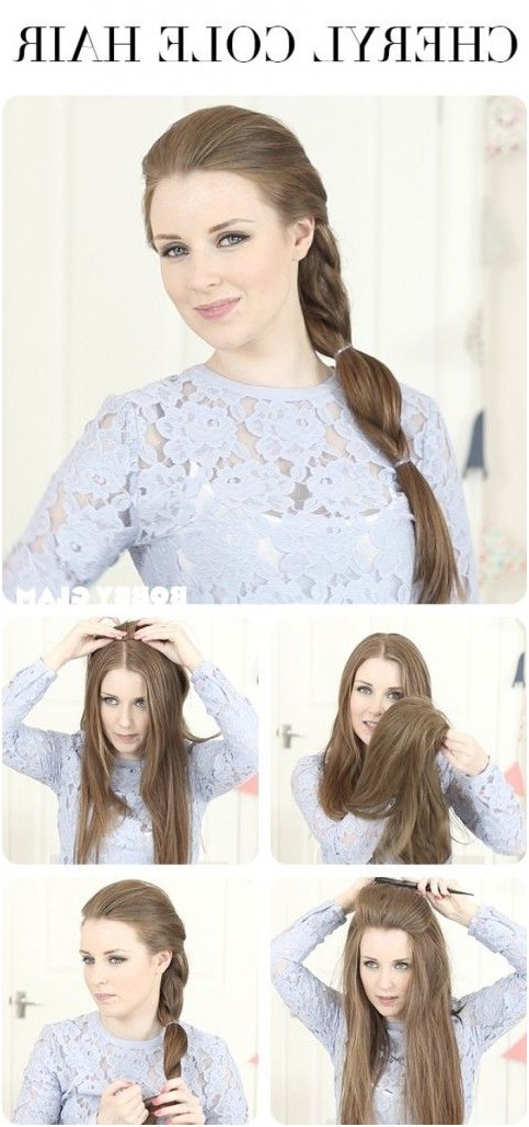 10 Ways To Make Cute Everyday Hairstyles: Long Hair Tutorials In Long Hairstyles Daily (View 9 of 25)