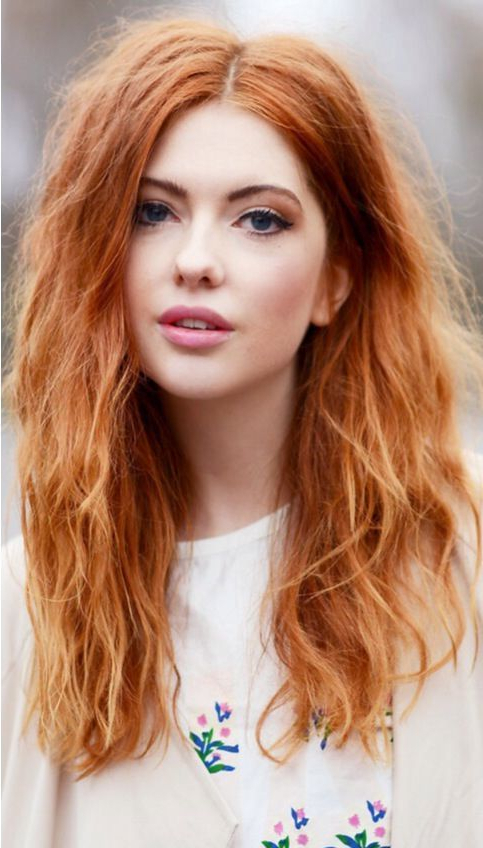 10 Wonderful Hairstyles For Ginger Hair – Trendy Red Hairstyles In Regarding Long Hairstyles For Red Hair (View 3 of 25)