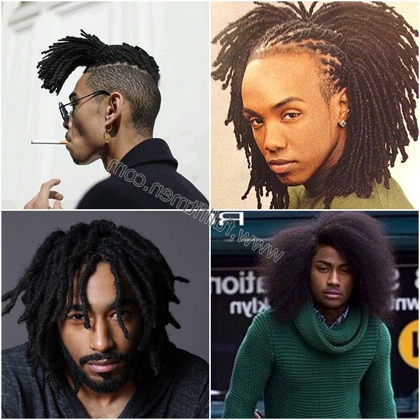 100 Comfortable And Stylish Long Hairstyles For Black Men Within Long Hairstyles For Black People (View 4 of 25)