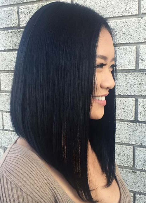 100 Dark Hair Colors: Black, Brown, Red, Dark Blonde Shades With Long Hair Colors And Cuts (View 25 of 25)