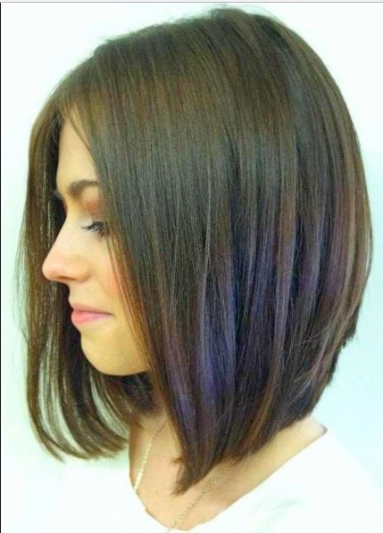 100 Latest & Easy Haircuts Short In Back Longer In Front For Hairstyles Long In Front Short In Back (View 11 of 25)