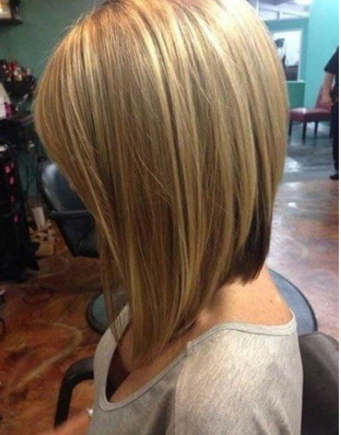 100 Latest & Easy Haircuts Short In Back Longer In Front Inside Short In Back Long In Front Hairstyles (View 7 of 25)