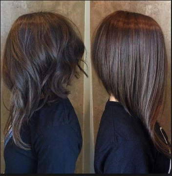 100 Latest & Easy Haircuts Short In Back Longer In Front With Long Hairstyles Front And Back View (View 18 of 25)
