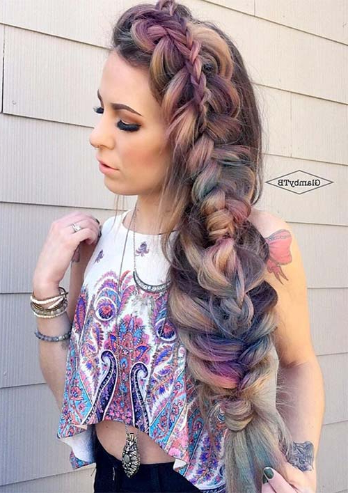 100 Ridiculously Awesome Braided Hairstyles To Inspire You Pertaining To Casual Braids For Long Hair (View 20 of 25)