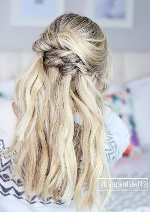 100 Trendy Long Hairstyles For Women To Try In 2017 | Fashionisers© Throughout Long Hairstyles Knot (View 21 of 25)