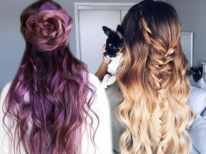 100 Trendy Long Hairstyles For Women To Try In 2017 | Fashionisers© With Formal Dutch Fishtail Prom Updos (View 25 of 25)