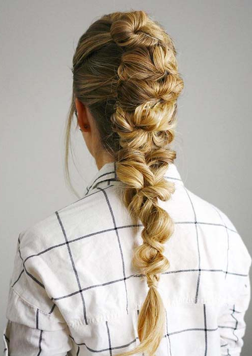 100 Trendy Long Hairstyles For Women To Try In 2017 | Fashionisers© Within Long Hairstyles Knot (View 8 of 25)