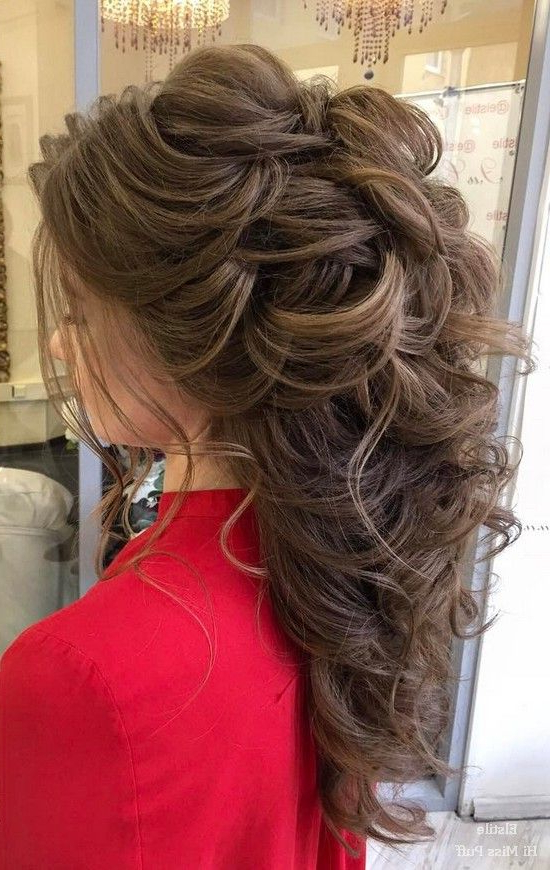 100 Wow Worthy Long Wedding Hairstyles From Elstile | Wedding Throughout Long Hairstyles For Wedding (View 7 of 25)
