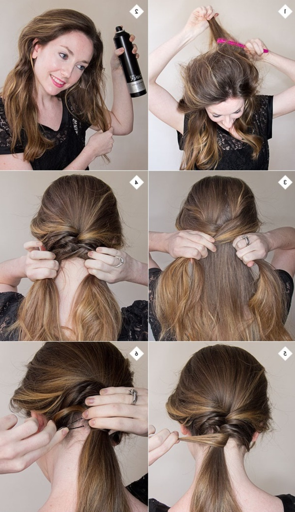 101 Easy Diy Hairstyles For Medium And Long Hair To Snatch Attention Throughout Long Hairstyles Do It Yourself (View 4 of 25)