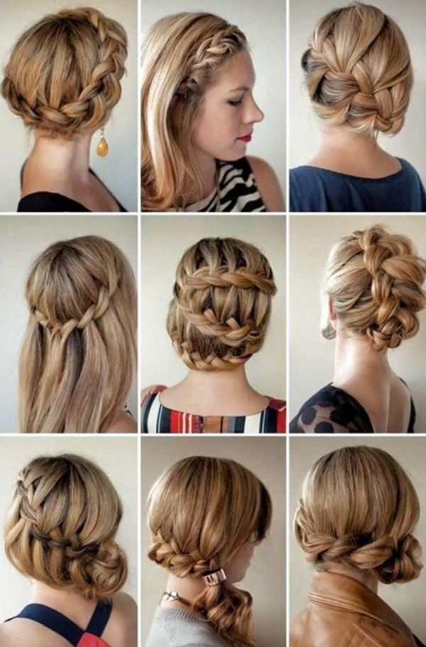 101 Easy Diy Hairstyles For Medium And Long Hair To Snatch Attention Within Long Hairstyles Diy (View 8 of 25)