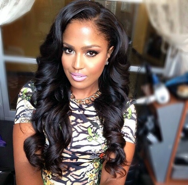101 Everyday New Black Women Hairstyles To Copy This Year Within Long Hairstyle For Black Women (View 3 of 25)
