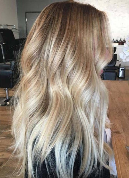 101 Layered Haircuts & Hairstyles For Long Hair Spring 2017 For Long Hairstyles With Layers And Highlights (View 22 of 25)