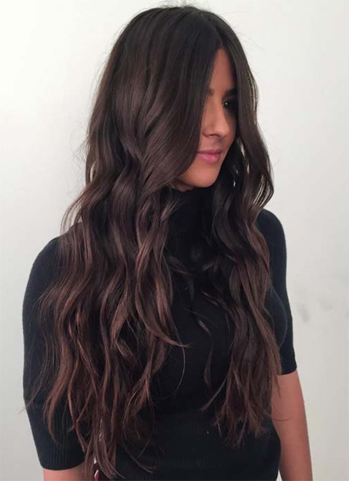 101 Layered Haircuts & Hairstyles For Long Hair Spring 2017 In Black And Brown Layered Haircuts For Long Hair (View 4 of 25)