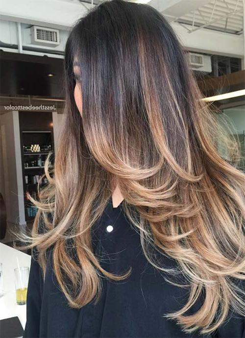 101 Layered Haircuts & Hairstyles For Long Hair Spring 2017 Inside Layered Ombre For Long Hairstyles (View 7 of 25)