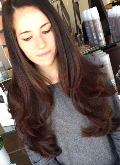 101 Layered Haircuts & Hairstyles For Long Hair Spring 2017 Regarding Long Haircuts For Wavy Hair (View 21 of 25)
