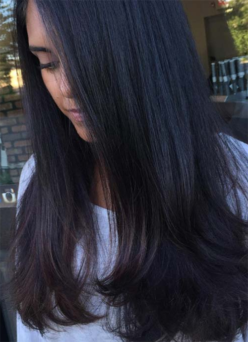 101 Layered Haircuts & Hairstyles For Long Hair Spring 2017 With Long Layered Black Haircuts (View 4 of 25)