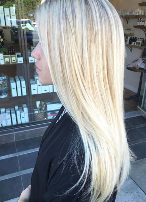 101 Layered Haircuts & Hairstyles For Long Hair Spring 2017 With Regard To Blonde Long Haircuts (View 11 of 25)