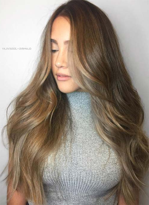 101 Layered Haircuts & Hairstyles For Long Hair Spring 2017 With Soft Feathery Texture Hairstyles For Long Hair (View 4 of 25)