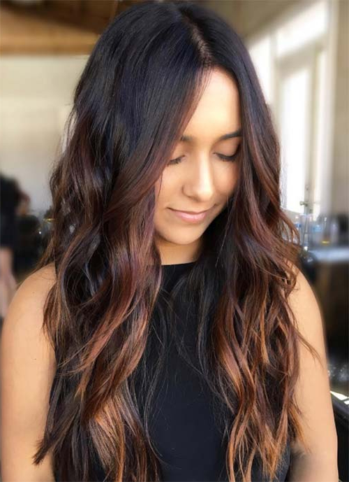 101 Layered Haircuts & Hairstyles For Long Hair Spring 2017 Within Dark Brown Long Hairstyles (View 9 of 25)