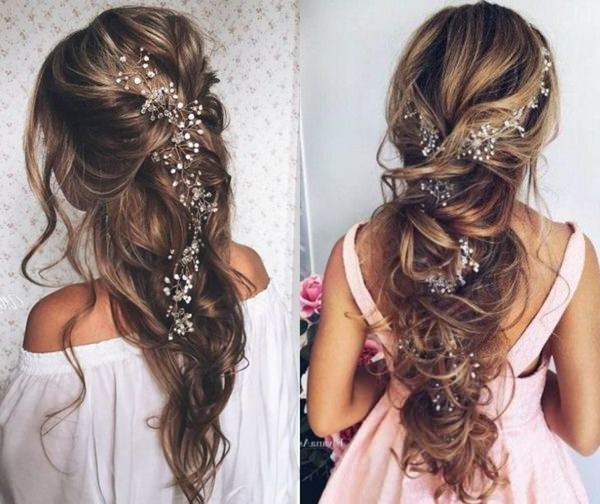 101 Long And Short Prom Hairstyles For This Spring – Style Easily For Classic Prom Updos With Thick Accent Braid (View 21 of 25)
