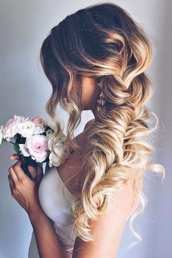 101 Long And Short Prom Hairstyles For This Spring – Style Easily Pertaining To Low Petal Like Bun Prom Hairstyles (View 21 of 25)