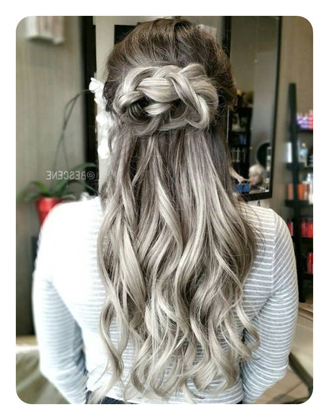 104 Long And Short Grey Hairstyles 2019 – Style Easily For Long Hairstyles For Gray Hair (View 12 of 25)