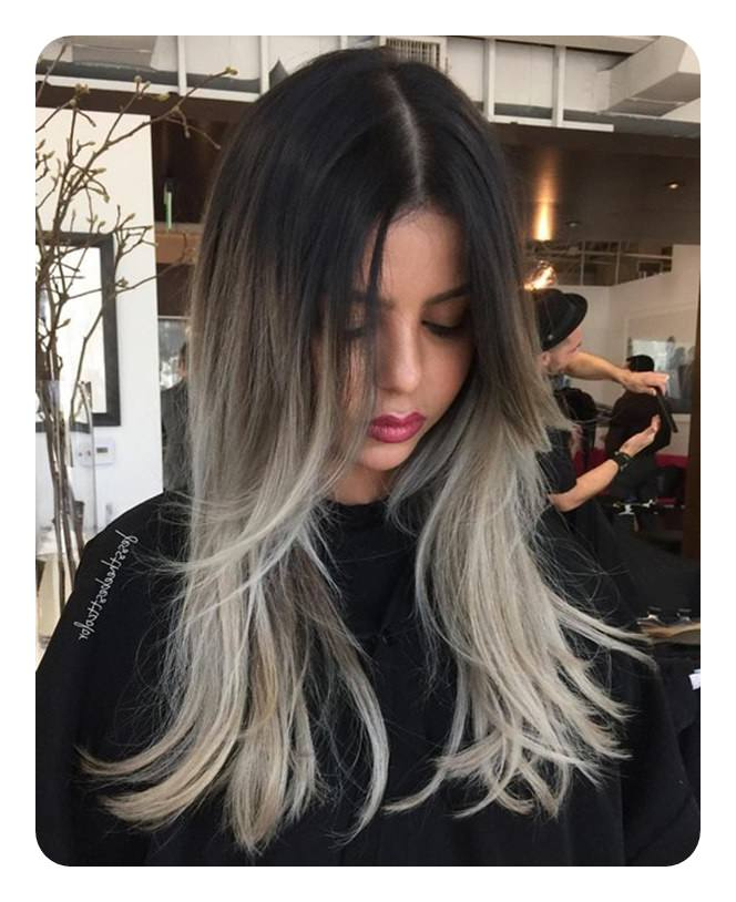 104 Long And Short Grey Hairstyles 2019 – Style Easily Pertaining To Long Hairstyles For Grey Hair (View 6 of 25)